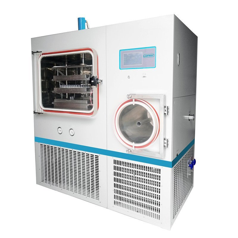FD-50F Series Pilot In-Situ Freeze Dryer, Automatic Lyophilizer, silicone oil-heating,