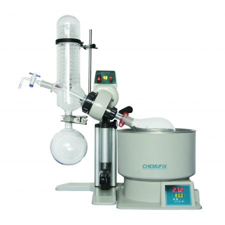 RE- 2010 0.5~2L Rotary Evaporator With Wter Bath, Digital Display, 20~195rpm