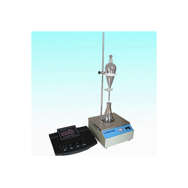 Water soluble acid and alkali tester for petroleum products