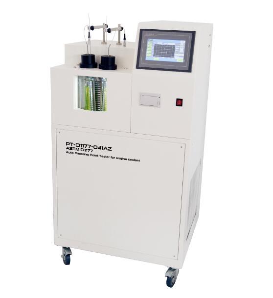 Automatic Engine coolant freezing point tester