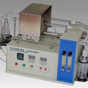 PT-D1551-022 Dark petroleum sulfur content analyzer (Quartz tube furnace method)