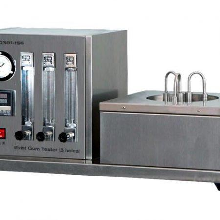 PT-D381-156 Existent Gum Tester, Actual gel tester (jet evaporation method), 3 holes Stainless steel