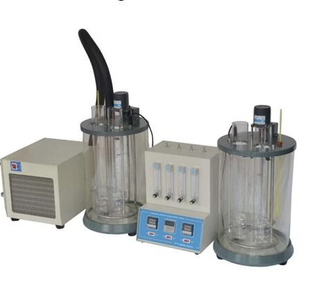 PT-D892-025 Lubricating oil foam characteristic tester, with cooling immersion chiller