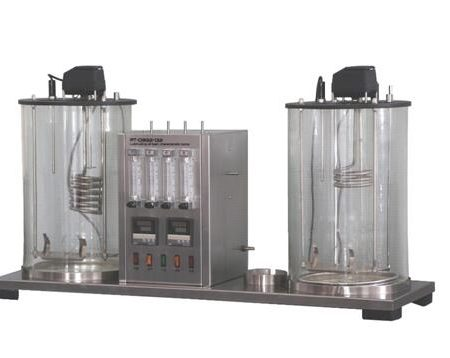 PT-D892-132 Lubricating oil foam characteristic tester, with cooling immersion chiller