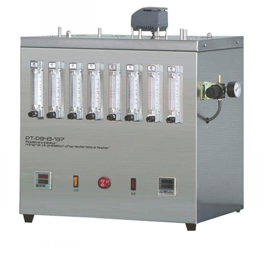 Additive inhibitor mineral oil oxidation characteristics tester