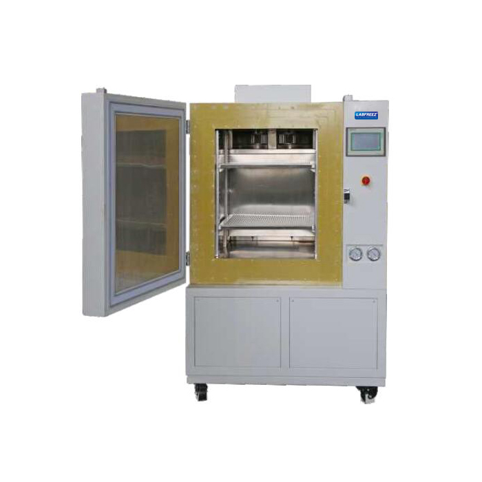 Industry Cryogenic ULT Freezer, rapid cooling tech, electric door open/close, heavy load capacity, Program Control