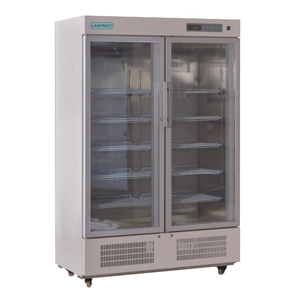 -5 -20°C Laboratory Deep Freezer, Glass door, Upright type