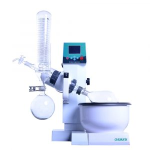 RE-2000E 0.5L~2L Rotary Evaporator With Teflon Water Bath, Auto Lifting, LCD Display