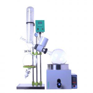RE 301 0.5L~3L Rotary Evaporator With Water Bath Manual Lifting, Digital Display, Teflon Double Seal